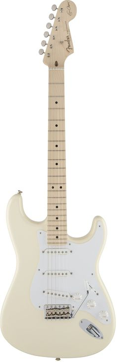 2017 Eric Clapton Stratocaster - this year's one is to celebrate Clapton's birthday and was built to his specifications according to Fender.
