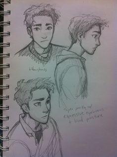 The Percy Jackson look alike that Brigid sees in her school