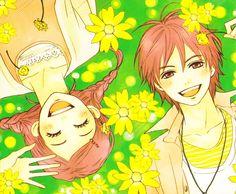 Koizumi Risa and Otani Atsushi Manga Anime, All Anime, Anime Love, Manga Art, Anime Art, Anime Girls, Killua, Koizumi Risa, Lovely Complex Anime