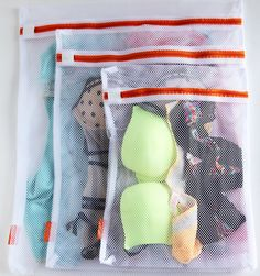 Delicates LARGE Set of 3 Laundry Washing Bags, Premium Quality: Lingerie Bags for Laundry, Garment, Blouse, Hosiery, Stocking, Underwear, Bra & Lingerie and for More Washing Bag Set