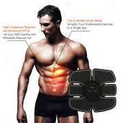 Smart Fitness Gym Abs Stimulator Muscle Training Gear Toning Belt Home Exercise Fit Pad Ultimate Abs Arm Sports Stickers Fitness Equipments