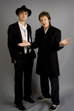 Sir Paul and Pete Doherty My Favorite TWO Melody maker.