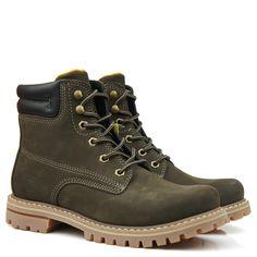 Bota Braddock Bucks Brown é na Black Boots - BlackBoots