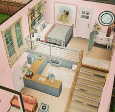 Construction: the sims freeplay small apartment Construction: the sims freeplay small apartment Sims 4 House Plans, Sims 4 House Building, Small House Plans, Building Games, Casas The Sims Freeplay, Sims Freeplay Houses, Sims Free Play, Play Sims, Sims 4 House Design