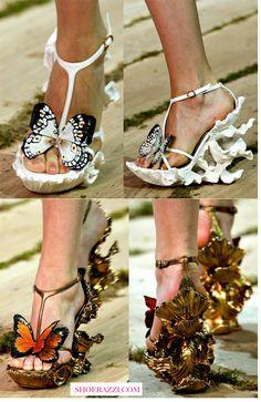 Alexander McQueen Spring 2011 Shoes - ShoeRazzi
