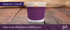Tonight's #gno Twitter Party is all about National Fragrance Month. Join us and @Glade Parrish as we share our favorite fragrances and memories from the holiday season. We will also be hosting a #giveaway. #bestfeelings #TwitterParty