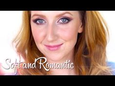 Soft and Romantic Hair and Makeup - YouTube