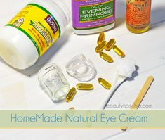 Homemade Eye Cream – How to Get Rid of Wrinkles, Fine Lines and Dark Circles   Beauty and MakeUp Tips