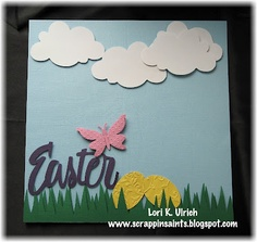 Easter scrapbooking page or invite or ?????????