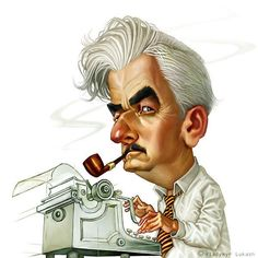 - William Faulkner, Xlibris Writing Inspiration What a great quote from Faulkner. I'd like to throw some of his writing out a window. I Love Books, Good Books, Books To Read, Writer Quotes, Book Quotes, Literary Quotes, Caricatures, William Faulkner, A Writer's Life