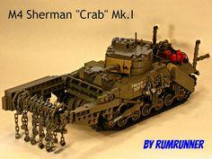 Lego Sherman Tank