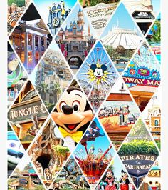 Disney- cool design for a collage