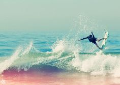 One day I want to go surfing... Of course I have to learn first...