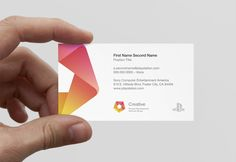 Sony PDSG Branding by Alex Townsend, via Behance