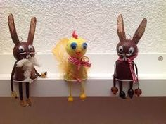 Imagem relacionada Solo Cup Crafts, K Cup Crafts, Arts And Crafts Projects, Dosette Nespresso, Art For Kids, Crafts For Kids, Puppet Crafts, Easter Activities, Woodland Party