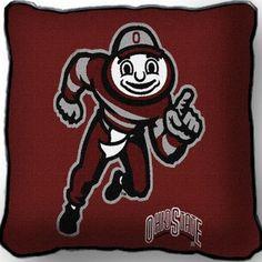 Ohio State University Mascot Pillow (Pillow)