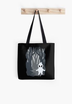 "Ignis Fatuus (Fuego fatuo) Tote bag by #Beatrizxe | #Redbubble This design was inspired by the movie ""Brave"" where these creatures (ignis fatuus) appear #artsy #cute #fantasy #legend #cave #minimal #creature #spiritual//// Este diseño está inspirado en la película ""Indomable"" donde estas criaturas aparecen #cuento #noche #personaje #inspiracion #creatividad"