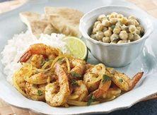 Tandoori-Style Shrimp With Chickpea Salad  #Contest
