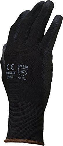 Azusa Safety N10556 13 gauge Nylon Work Gloves, Black PU Polyurethane Dip Coating Finish #Azusa #Safety #gauge #Nylon #Work #Gloves, #Black #Polyurethane #Coating #Finish