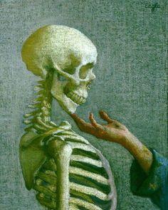 The Elements of Portraiture by Ellen Eagle on Curiator, the world's biggest collaborative art collection. Hans Baldung Grien, Eagle Wallpaper, Dance Of Death, Art Ancien, Creation Art, Danse Macabre, Ap Art, Collaborative Art, Vanitas