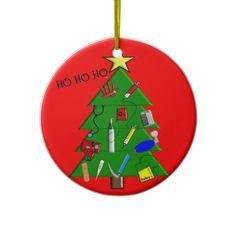 Louis I Scrub Surgical Tech Ceramic Ornament 3 inch Round Holiday Christmas Ornament