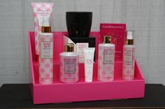 Pure Romance products on our Pink Salmon Stack Display! #pureromance