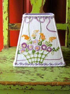 Spring My Day Vintage Lampshade by Sassyshades