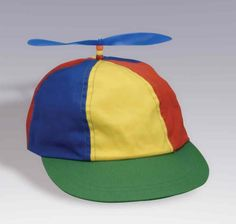 Tweedle dum and Tweedle dee will be wearing this hat on their heads. I choose this hat because it shows that they are still kids and they are playful. Its to let the audience know that they shouldn't take the twiddles seriously