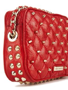 What a bag! via @RebeccaMinkoff get it here: rebeccaminkoff.com #fashion #RED