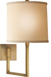 LARGE ASPECT ARTICULATING SCONCE. LIke this for bedside but too expensive at $525.