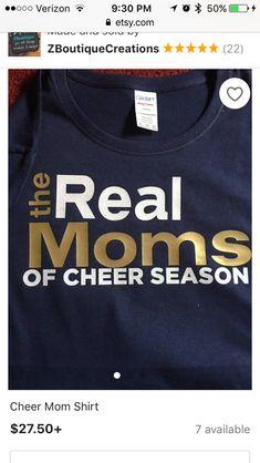 Dance Mom Shirts, Cheer Mom Shirts, Cheerleading Shirts, Football Mom Shirts, Dad To Be Shirts, Softball, Youth Cheer, Cheer Camp, Cheer Coaches
