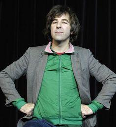 Comedian, David O Doherty @ Clever puns & innocent childlike humor.
