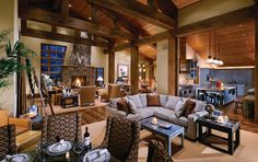 Rustic Home Design Inspiration - Canadian Log Homes. (2013, June 22). Retrieved February 3, 2015, from http://canadianloghomes.com/blog/2013/06/22/rustic-home-design-inspiration/