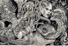 E.C with A-Neon-Devil-Breath by larkin-art.deviantart.com on @DeviantArt