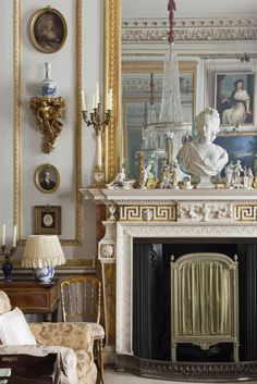 Part of the Drawing Room at Hatchlands. ©National Trust Images/James Dobson nttreasurehunt.wordpress.com