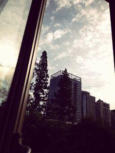 View from window--Shanghai China