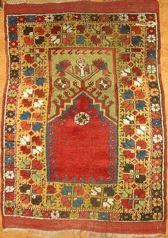 Nigde Aksaray village rug ca 1860- Turkey