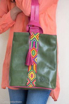 Back Pack de Piel. | Consulta disponibilidad en cristinaorozco.mx