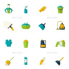 Cleaning Icon Flat   Download: http://graphicriver.net/item/cleaning-icon-flat/10311232?ref=ksioks