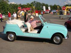 "Renault R4 ""Plein Air"", vintage french car (1968-1970)"