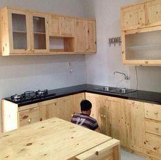 Diy Kitchen Projects, Home Decor Kitchen, Kitchen Furniture, Kitchen Cupboard Designs, Diy Kitchen Storage, Bedroom Cupboard Designs, Bedroom Cupboards, Small Kitchen Set, Kitchen Sets