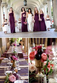 Elegant California Wedding From Amber Events ~ A Rainbow of Colors | Style Me Pretty