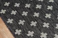 Umbria Charcoal Indoor/Outdoor Area Rug