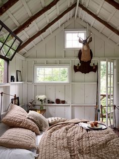 "this will lead you to some other photos of ""sheds"" and the fun decor of that extra space in your yard. want one..."