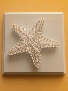 Starfish String Art by RiversouthGifts on Etsy
