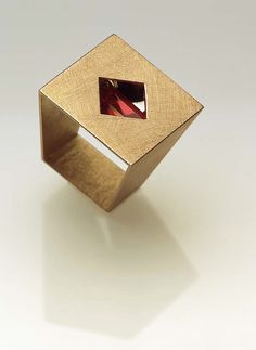 Ring by contemporary jewelry artist Alberta Vita