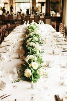 Classically Elegant California Wedding from Josh Elliott - wedding centerpiece idea