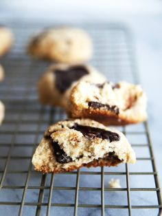 Coconut Chocolate Chip Cookies via @mydomaine