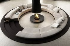 round living rooms - Google Search