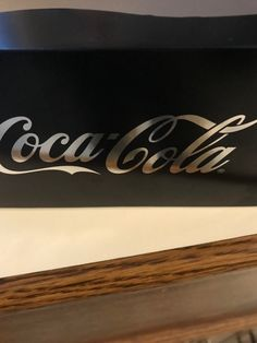 From Coca-Cola glass